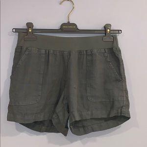 Allen Allen Linen Shorts
